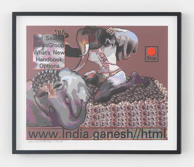 Lillian Schwartz, 'India.Ganesh', 1984