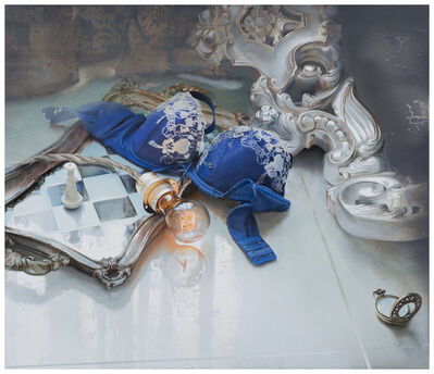 YU SHENG-RUEI 余昇叡, 'Collection Illuminating No.6  Residual Temperature   發光研究No.6 餘燼溫度', 2015