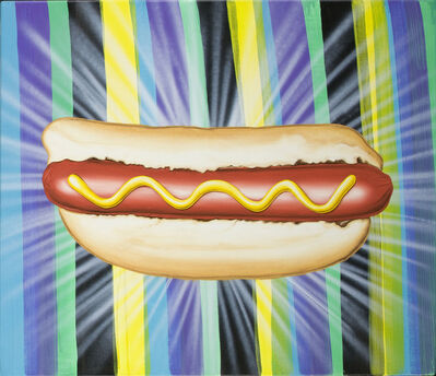 Kenny Scharf, 'Introducing...The Hot Dog!', 2008