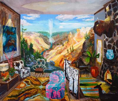 Johnny DeFeo, 'Yellowstone Canyon Cabin', 2019