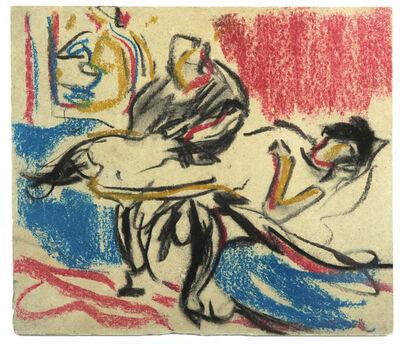 Ernst Ludwig Kirchner, 'Boudoir-Szene', ca. 1908