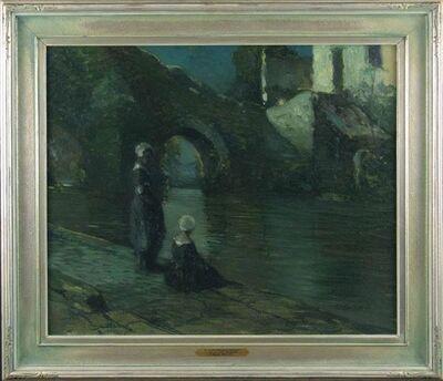 George Ames Aldrich, 'Evening in Quimperle', ca. 1910