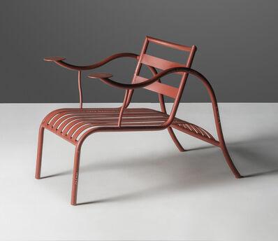 Jasper Morrison, 'An important 'Thinking Man's' prototype armchair', 1987
