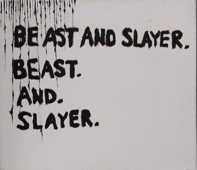 Oscar Figueroa, 'Beast and Slayer', 2019