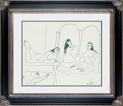 Pablo Picasso, 'Le Bain (The Bath)', 1968
