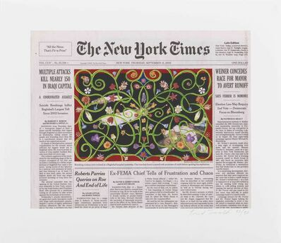 Fred Tomaselli, 'September 15, 2005', 2010