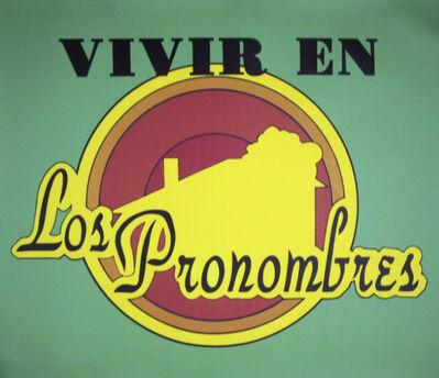 Rogelio Lopez Cuenca, 'Live in the Pronouns', 1996