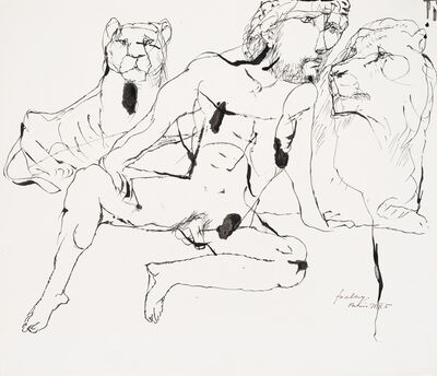 Lajos Szalay, 'Series A season in Paris - Daniel', 1971