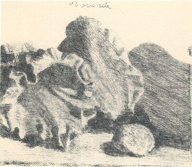 Giorgio Morandi, 'Natura morta con vaso, conchiglia e chitarra', 1921