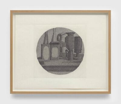 Giorgio Morandi, 'Grande natura morta con undici oggetti un tondo (Large still life with eleven objects a round)', 1942