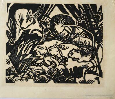 Franz Marc, 'Tierlegende (Animal Legend)', 1912
