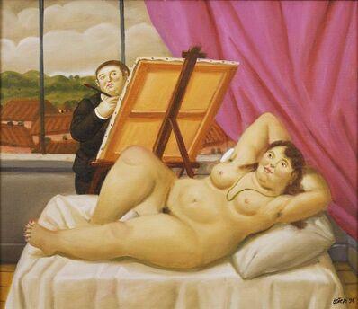 Fernando Botero, 'Painter and Model', 1998