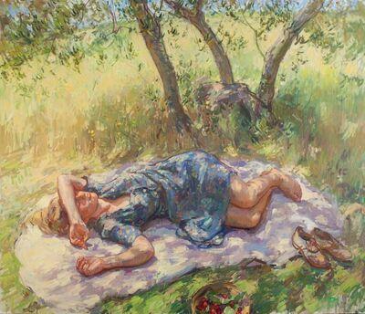 Ben Fenske, 'Florence Olive Tree', 2014
