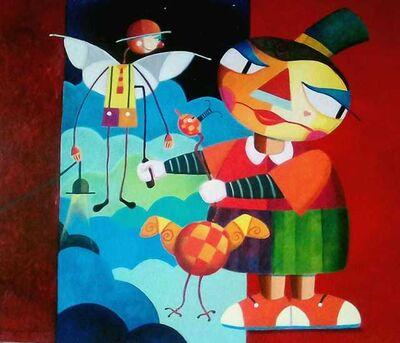 Jorge Cajueiro, 'O Bonequeiro', 2019