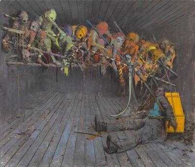 Jonas Burgert, 'Kopf mehr', 2013