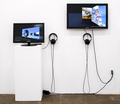 "Judith Barry, '2 videos: ""Consigned to border: the terror and possibility in the things not seen"" & ""Echo""', 1986-2007"