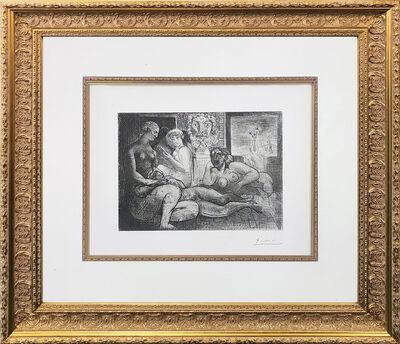 Pablo Picasso, 'QUATRE FEMMES NUES ET TETE SCULPTEE (BLOCH 219)', 1934