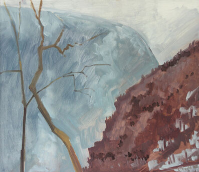 Lois Dodd, 'Water Gap, March', 2003