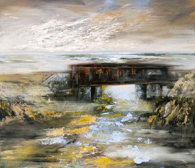 Réal Calder, 'Le pont noir', 2018