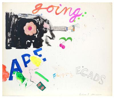 George Schneeman, 'Untitled (Going Ape)', ca. 1970