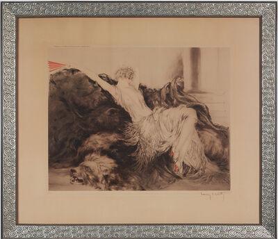 """Louis Icart, ' """"Paresse"""" ', 1925"""