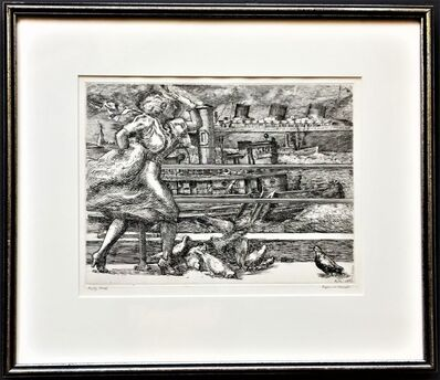 Reginald Marsh, 'Battery (Belles).', 1939