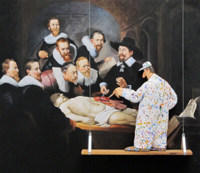 Stephen Hansen, 'The Anatomy Lesson of Dr. Tulp (Unknown Artist from the School of Rembrandt)'