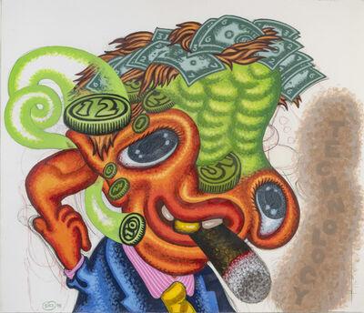 """Peter Saul, '""""Technology""""', 1998"""