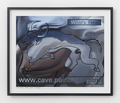 Lillian Schwartz, 'Cave Painting', 1984