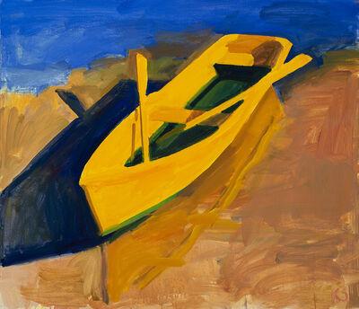 Kurt Solmssen, 'Yellow Boat, Evening', 2020