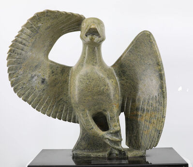Ashevak Tunnillie, 'Falcon', 1993