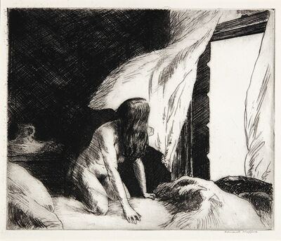Edward Hopper, 'Evening Wind (Levin 77)', 1921