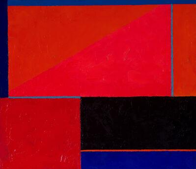 Inés Bancalari, 'Tabla azul, naranja y rojo', 2005