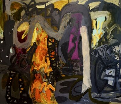 Alfredo Gisholt, 'Night Studio II', 2019