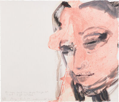 Marlene Dumas, 'Amy - Back To', 2015