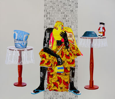 Eddy Kamuanga Ilunga, 'Fragile 1, edition of 25', 2018
