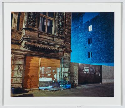 Shimon Attie, 'Almstadstrasse 5', 1992/93