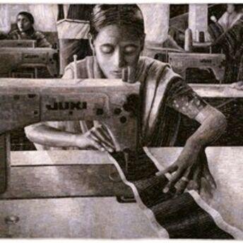 'Portrait of a Textile Worker', 2005