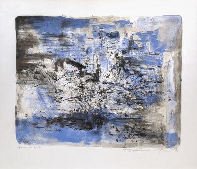 Zao Wou-Ki 趙無極, 'Untitled', 1961