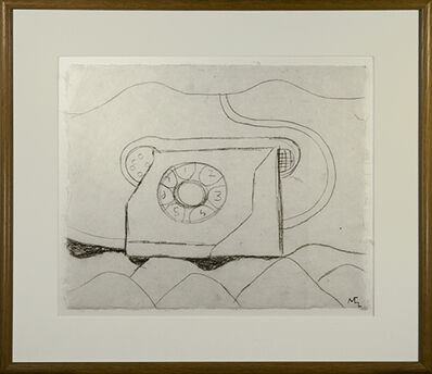 Miguel Castro Leñero, 'Telephone In Landscape (TelÈfono de MÈxico)', 1991