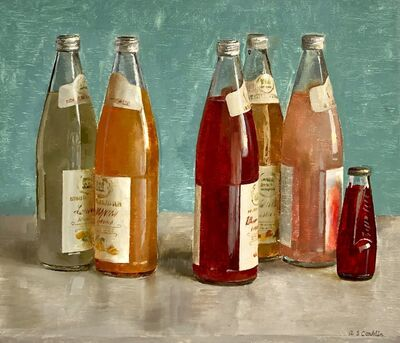 Andrew S. Conklin, 'Still Life with Italian Soda Bottles', 2020