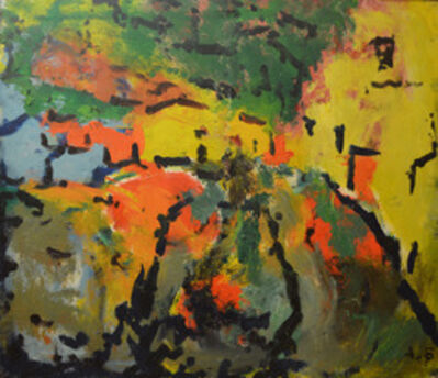 Aron Froimovich Bukh, 'Golden Houses', 1997