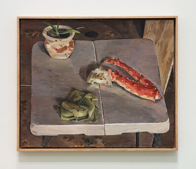 Kent O'Connor, 'King Crab Leg on Folding Table', 2019