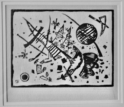 Wassily Kandinsky, 'Holzschnitt für Ganymed Mappe (Woodcut for Ganymede Portfolio)', 1924