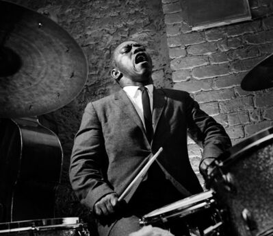 Herman Leonard, 'Art Blakey, Paris', 1958