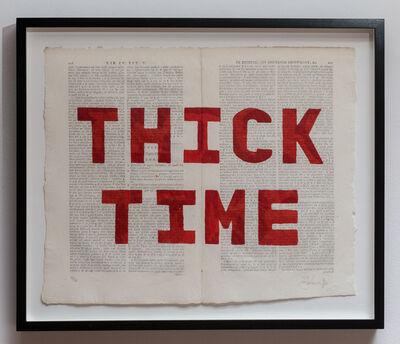 William Kentridge, 'Thick Time', 2012