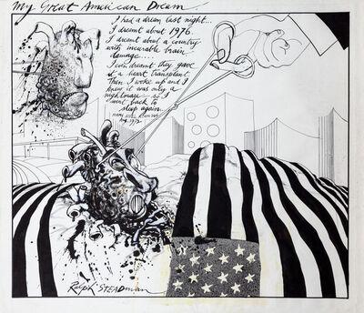Ralph Steadman, 'My Great American Dream', 1972