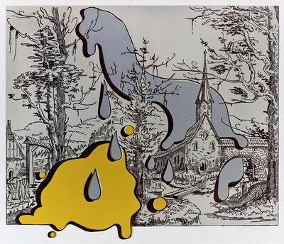 Steve Viezens, 'Landscape with spots I', 2018