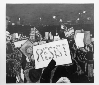 Libby Black, 'Resist', 2019