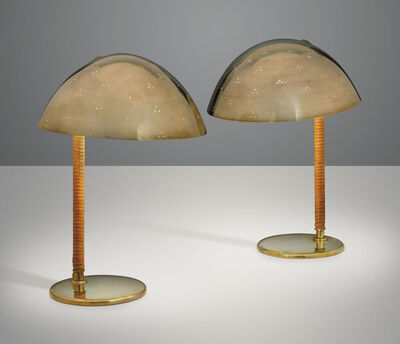 Paavo Tynell, 'A pair of table lamps, model no. 9209', 1950s